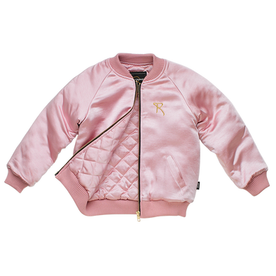 Muted Pink Roadrunner Reversible Jacket by Rock Your Kid
