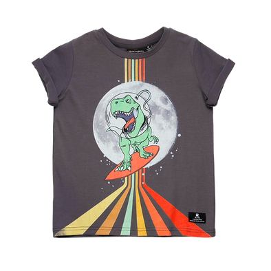 Dino in Space T-Shirt by Rock Your Kid