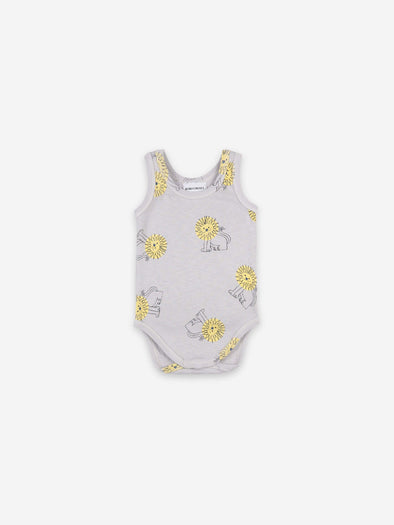 Pet A Lion Sleeveless Bodysuit by Bobo Choses