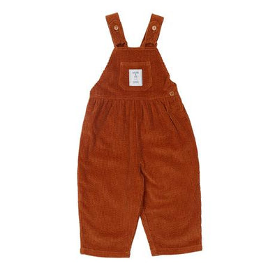 Sammy Corduroy Overalls Rust by Goldie + Ace