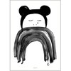 Crying Minnie Print by Pax & Hart (with frame)