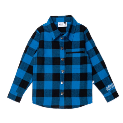 Snappy Flannel Shirt by Minti