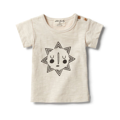 Smiling Sun Short Sleeve Tee by Wilson & Frenchy
