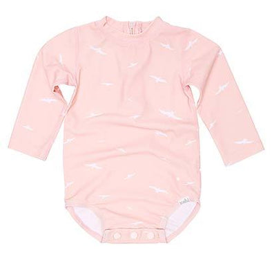 Swim Onesie L/S Palm Beach by Toshi