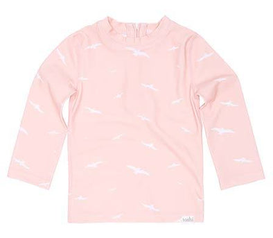Swim Rashie L/S Palm Beach by Toshi