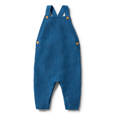 Knitted Overall - Denim Fleck by Wilson & Frenchy