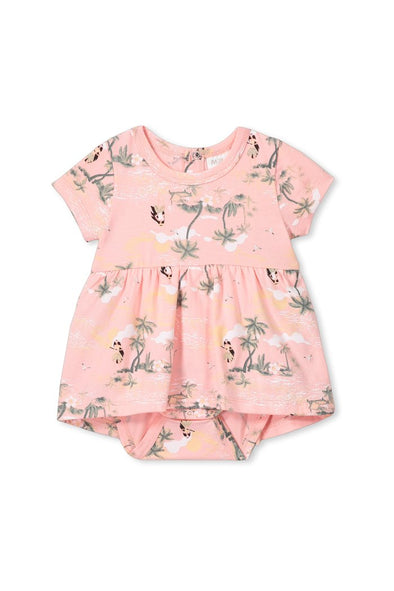 Hula Girl Baby Dress by Milky