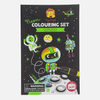 Neon Colouring Set - Outer Space by Tiger Tribe