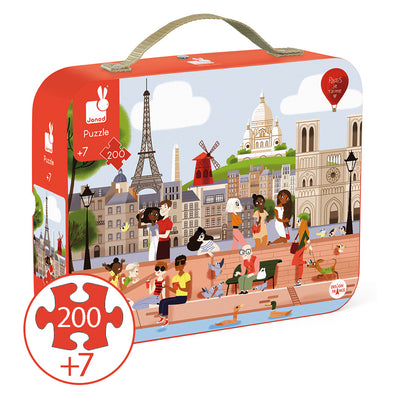 Janod - Paris Puzzle - 200 pieces