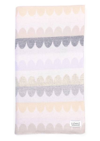 Uimi Molly Blanket - Salt - Merino Wool