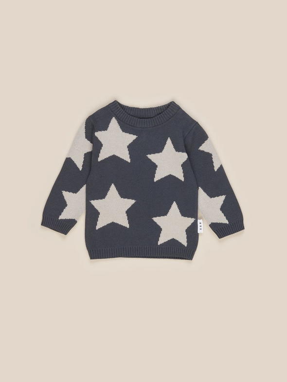 Star Knit Jumper by Hux Baby