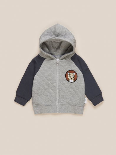 Quilted Hoodie by Hux Baby
