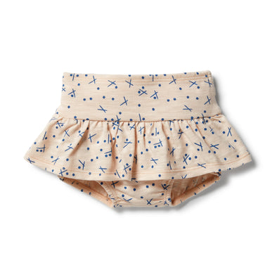 Hugs & Kisses Ruffle Nappy Pant by Wilson & Frenchy