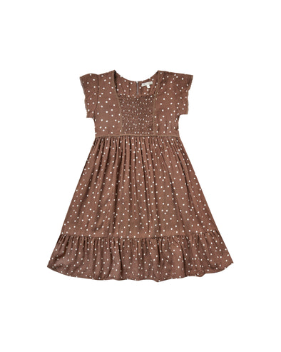 Dot Madeline Dress by Rylee & Cru