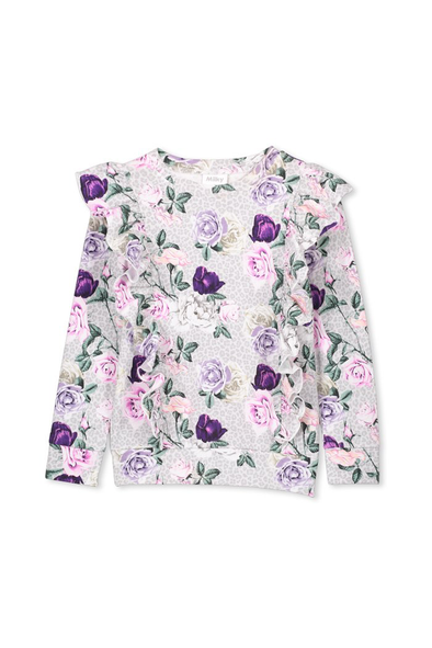 Rosebloom Frill Tee by Milky