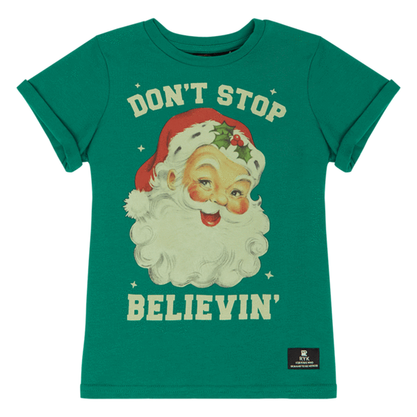 Don't Stop Believin' T-Shirt by Rock Your Kid