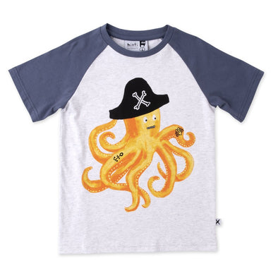 Captain Octopus Tee by Minti