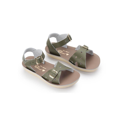 Salt Water Sandals - Sweetheart - Olive