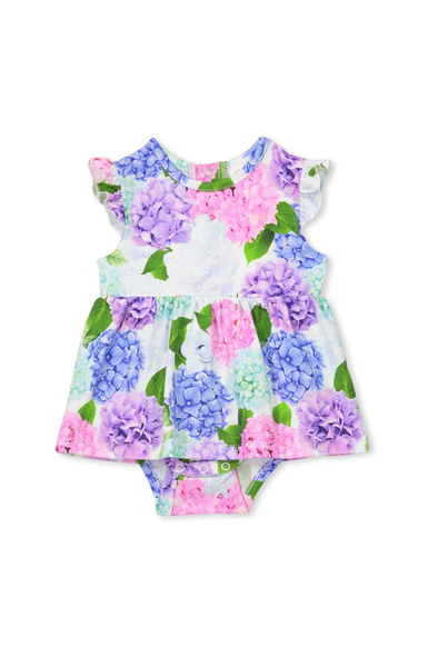 Hydrangea Baby Dress by Milky