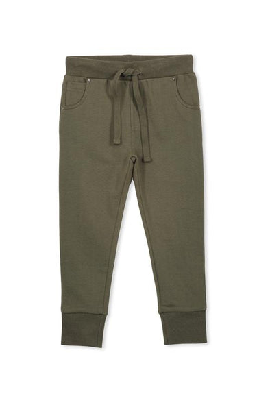 Relax Khaki Track Pant by Milky