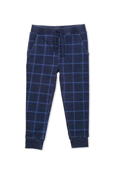 Grid Track Pant by Milky