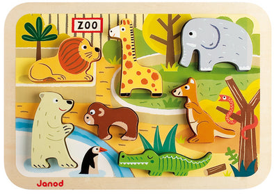 Janod - Zoo Chunky Puzzle