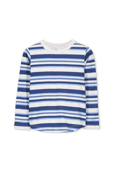 Multi Stripe Tee by Milky
