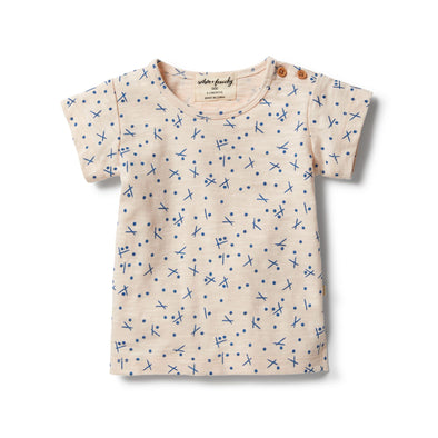 Hugs & Kisses Short Sleeve Tee by Wilson & Frenchy