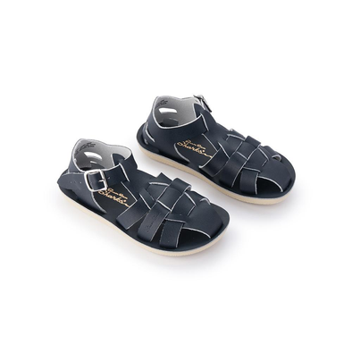 Salt Water Sandals - Shark - Navy