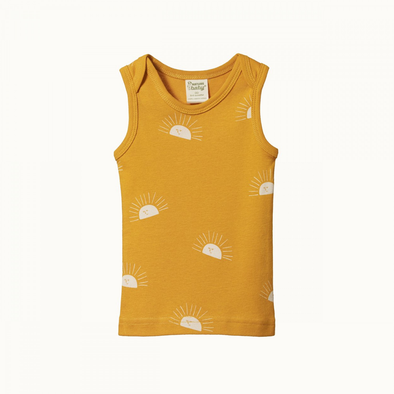 Singlet by Nature Baby - Sunrise Honey