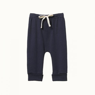 Drawstring Pants by Nature Baby - Navy