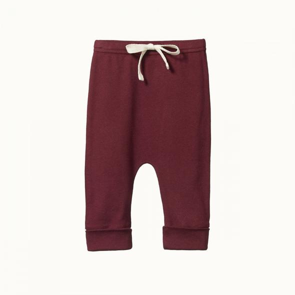 Drawstring Pants by Nature Baby - Elderberry