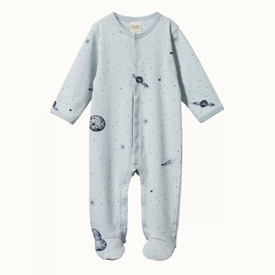 Cotton Stretch & Grow by Nature Baby - Galaxy Print