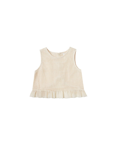 Leonie Top - Shell by Rylee & Cru