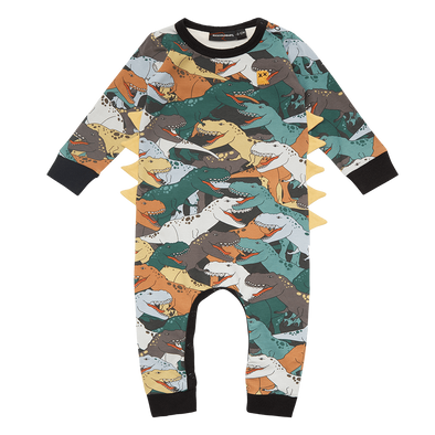 Dino Stampede Playsuit by Rock Your Kid