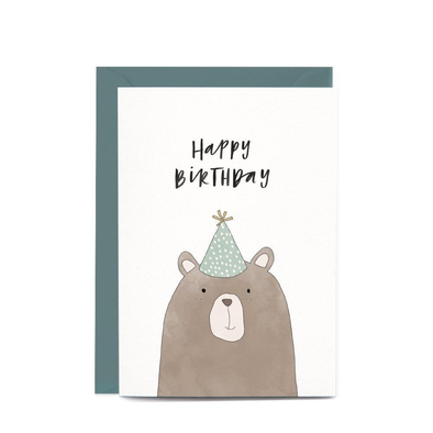 Birthday Greeting Card (with wrapping)