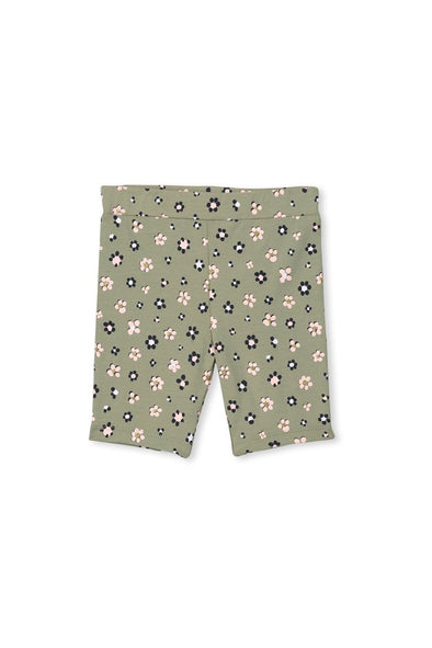 Daisy Floral Baby Bike Short by Milky