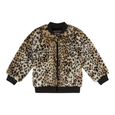 Animal Faux Fur Jacket by Rock Your Kid