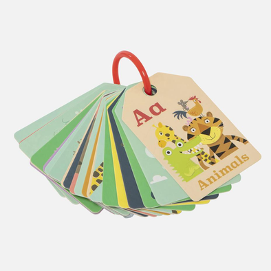Flash Cards Animal ABC by Tiger Tribe