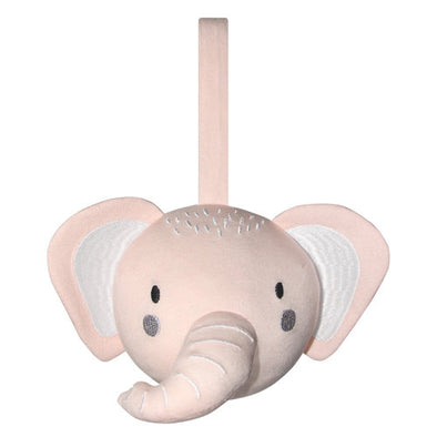Pram Rattle Ball Pink Elephant by Mister Fly