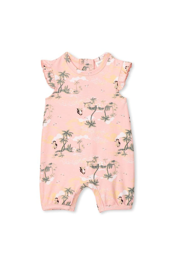 Hula Girl Romper by Milky