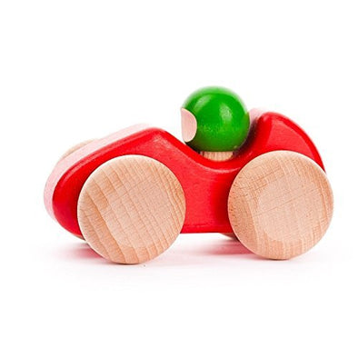 Mini Racing Car with Driver (Red) by Bajo
