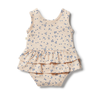Hugs & Kisses Ruffle Bodysuit by Wilson & Frenchy