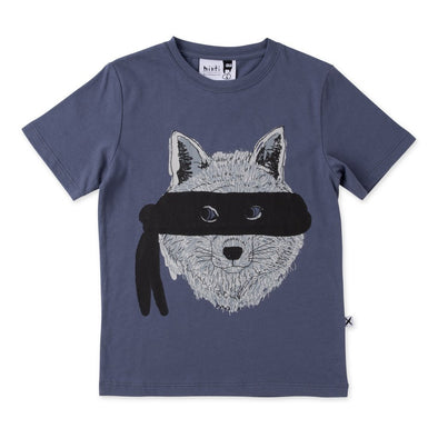 Undercover Wolf Tee by Minti