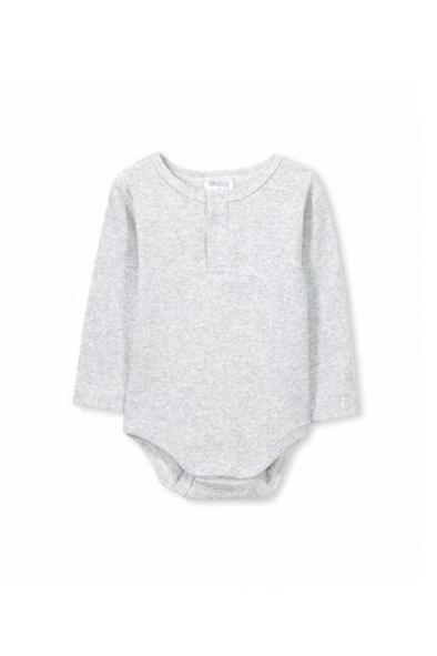 Silver Marle Basic Bodysuit by Milky