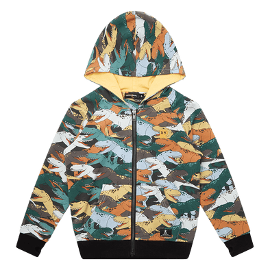 Dino Stampede Hoodie by Rock Your Kid