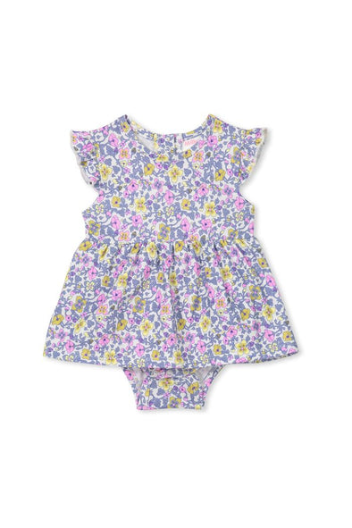 Vintage Floral Baby Dress by Milky