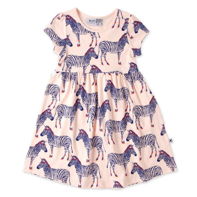 Zebra Ballerinas Dress by Minti