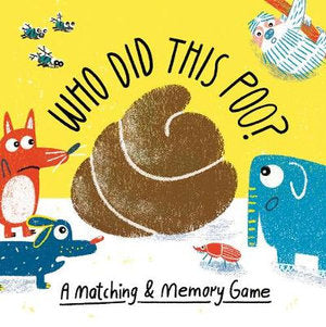 Memory Game - Who Did this Poo?
