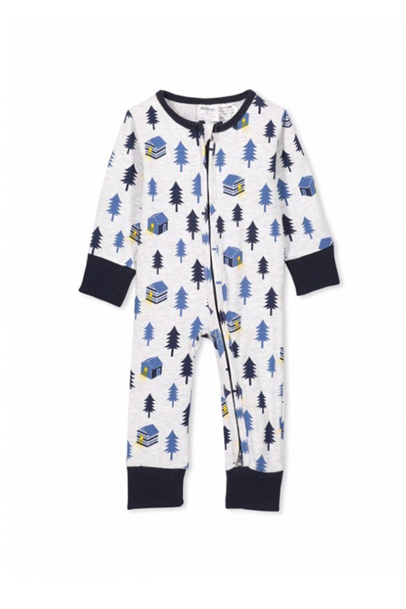 Forest Sleep Romper by Milky